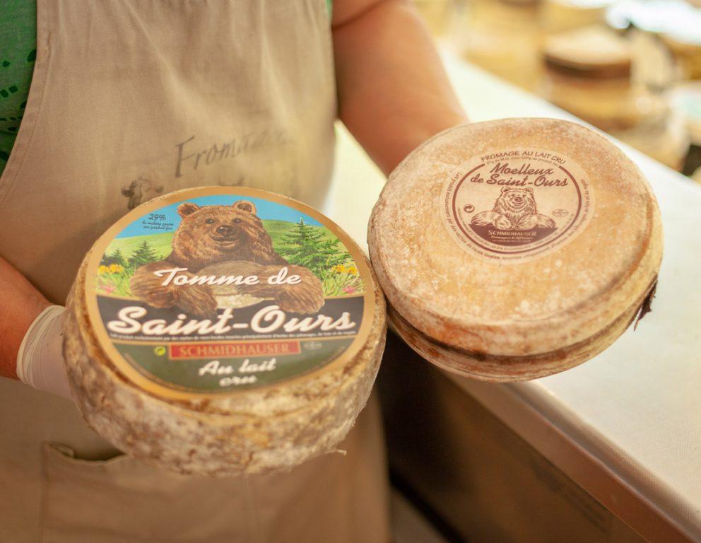 Présentation fromages