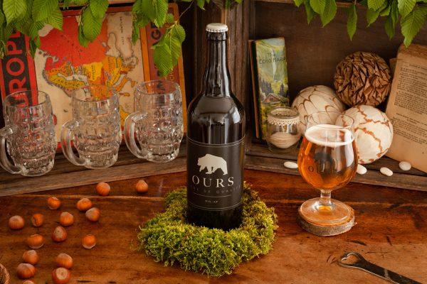 bière blanche ours 75cl