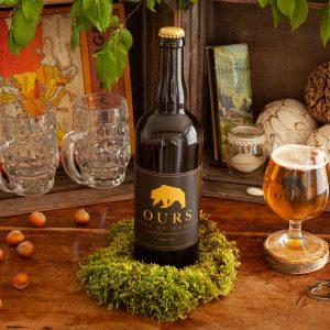 Bière blonde ours 75cl