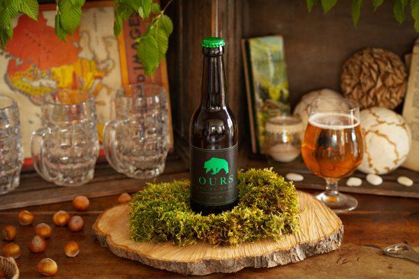 Bière ours verveine 33cl
