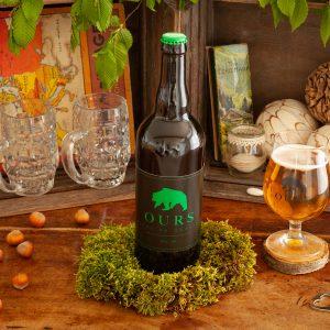 Bière ours verveine 75cl