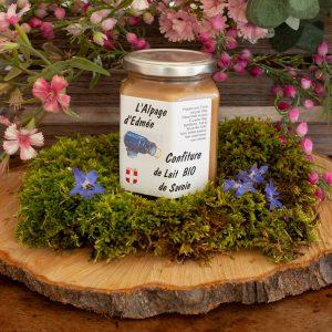 Confiture lait bio Savoie